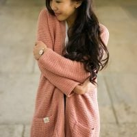 Rosewood Cardigan by All About Ami Featured at Free Pattern Friday