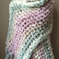 Gentle Solace Prayer Shawl