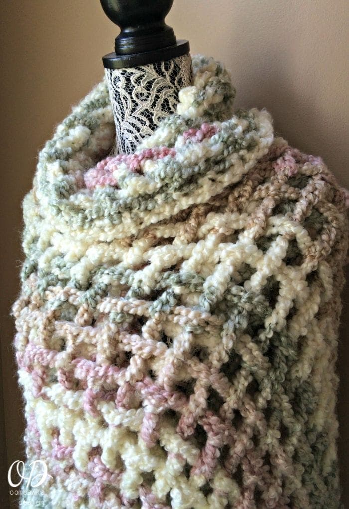 Free Crochet Patterns For A Prayer Shawl : Gentle Solace Prayer Shawl Oombawka Design Crochet