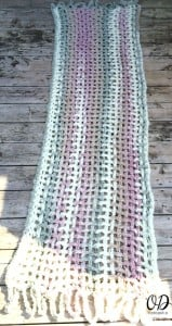 4 Gentle Solace Prayer Shawl | Friendship Shawl | Free Pattern @OombawkaDesign