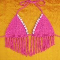 Sand Dollar Bikini Top Pattern