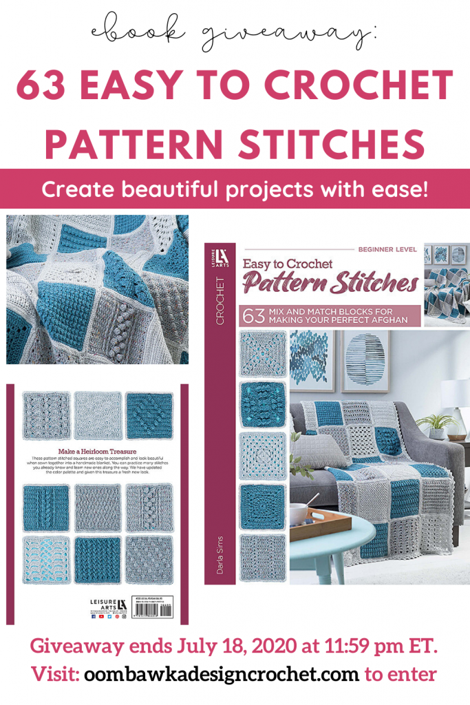 eBook Giveaway 63 Easy To Crochet Pattern Stitches from Leisure Arts
