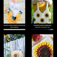 10 Free Sunflower Crochet Patterns Free Pattern Friday