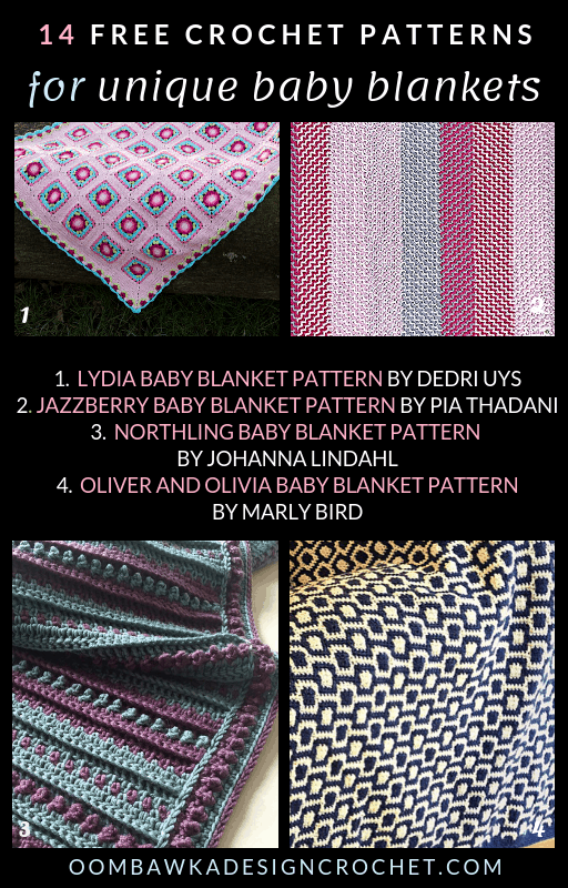 14 Unique Baby Blanket Patterns