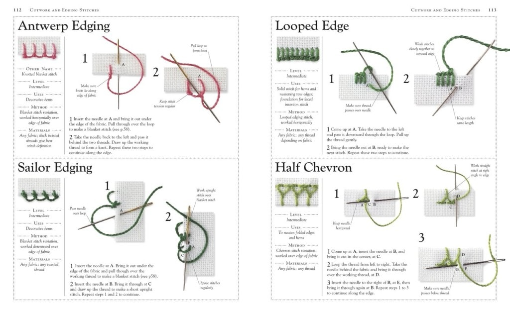 Examples   Embroidery   Book Review   OombawkaDesign