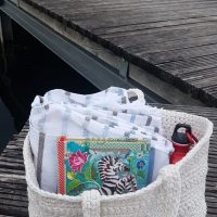 Beach Bag Prototype Featured Wednesday Link Party 361