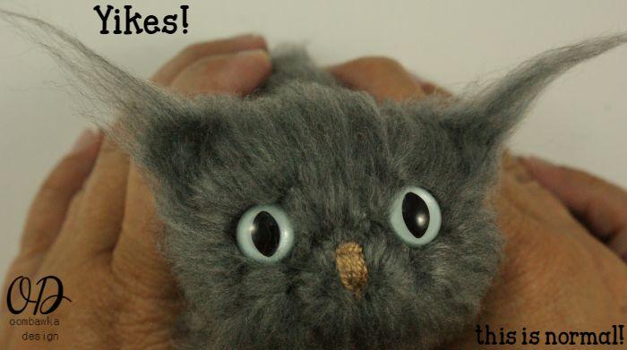 Brush Ears | | Little Oombawkas | Mini Meow CAL | Oombawka Design