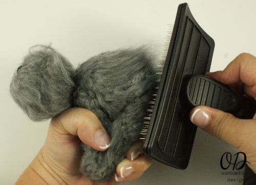 Brush Your Kitty | Little Oombawkas | Mini Meow CAL | Oombawka Design