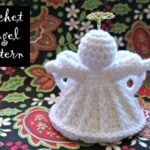 Crochet Angel Pattern Oombawka Design