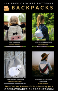 Free Backpack Crochet Patterns Oombawka Design