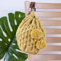 Honeycomb Backpack from WeCrochet Featured at FPF