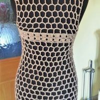 Honeycomb Sleeveless Vest - Featured Wednesday Link Party 361