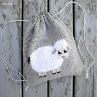 Lamb Cinched Back Pack Pattern FPF