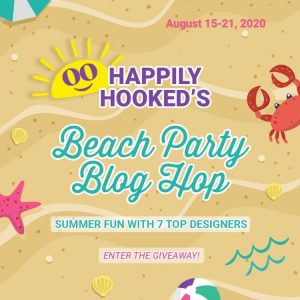 Beach Party Blog Hop Graphic