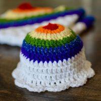 Rainbow Baby Hat - Cute and Cozy Crochet