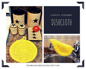 Simple Scrubby Dishcloth Pattern