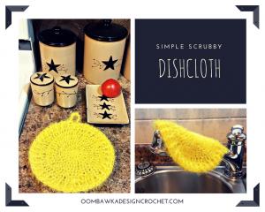 Simple Scrubby Dishcloth Pattern