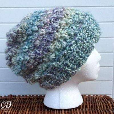 Simply Scrumptious Hat | Simply Scrumptious Scarf | oombawkadesigncrochet.com