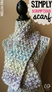Simply Scrumptious Scarf Pattern