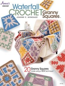 Waterfall Crochet Granny Squares Giveaway ends September 5 1159 pm ET