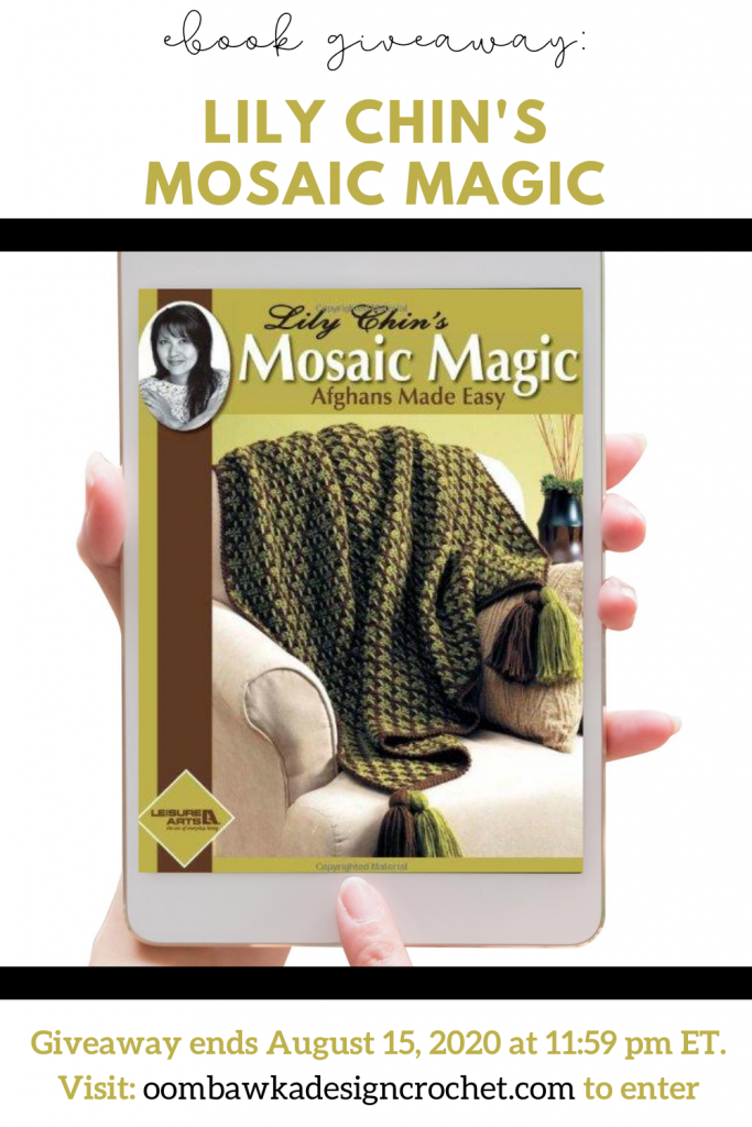 eBook Giveaway Lily Chins Mosaic Magic ends August 15 at 1159pm ET