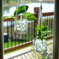 Houseplant Clippings Plant Hanger Free Pattern Friday Crochet Plant Hangers