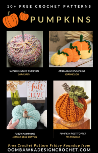 10 Free Crochet Pumpkin Patterns - Free Pattern Friday