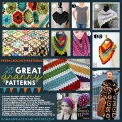 20 Great Granny Patterns Free Crochet Patterns Oombawka Design Crochet