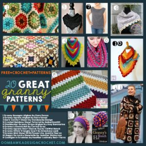 20 GREAT Granny Patterns