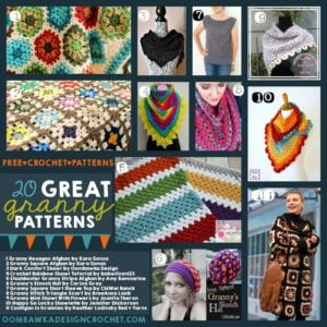 20 Great Granny Patterns Free Crochet Patterns Oombawka Design Crochet