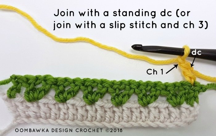 Tulip Stitch Crochet Pattern Tutorial by Oombawka Design Crochet Image 3a
