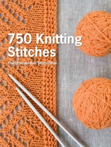750 Knitting Stitches | Pavilion | SMP | Book Review