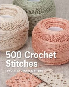 500 Crochet Stitches | SMP | Book Review oombawadesigncrochet.com