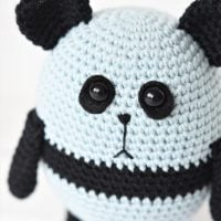 Amigurumi Panda Bear Featured at Free Pattern Friday