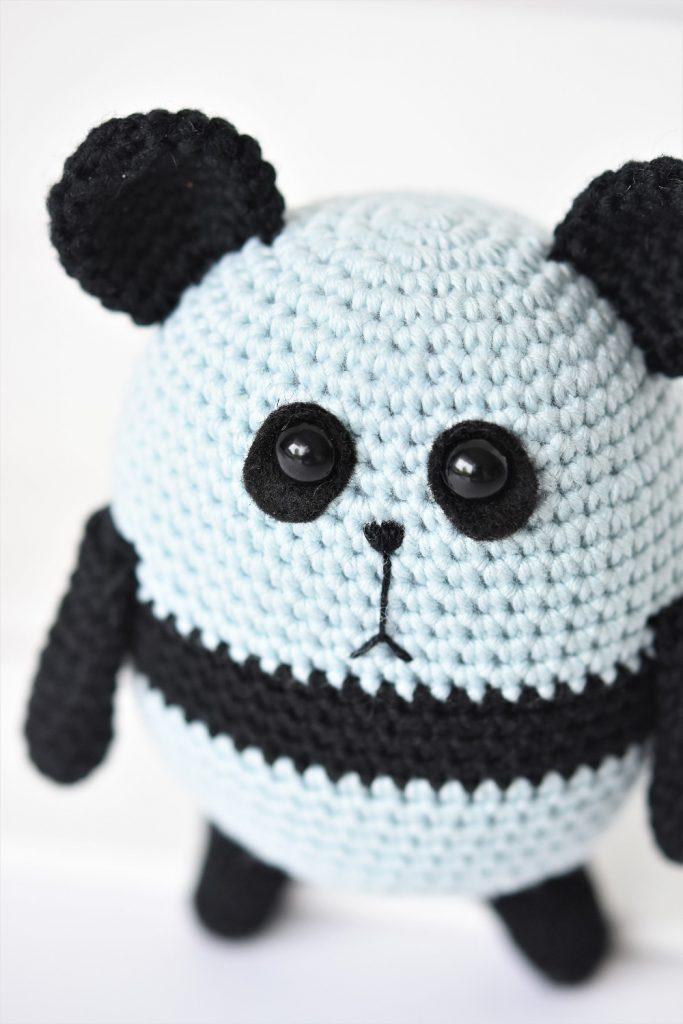Amigurumi Panda Bear Featured at Free Pattern Friday