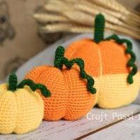 Amigurumi Pumpkins - Joanne Loh - Free Pattern Friday