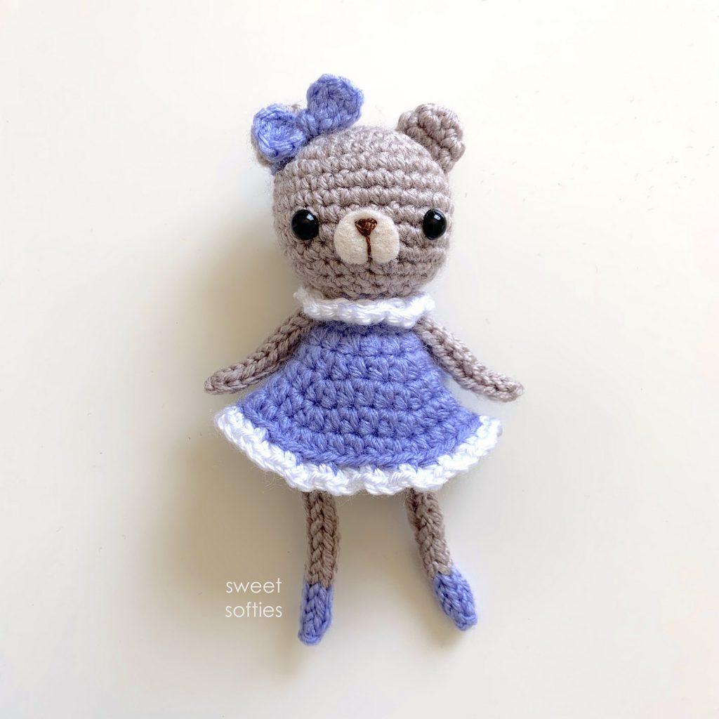Bear Buddy Sweet Softies Free Pattern Friday