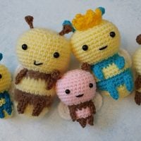 Bee Family Featured at Free Pattern Friday