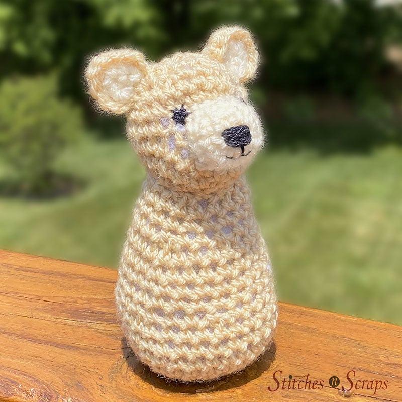 Bravo the Bear Cub by Pia Thadani