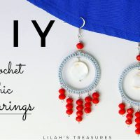 Chic Earrings - Lilahs Treasures - Featured Wednesday Link Party 364