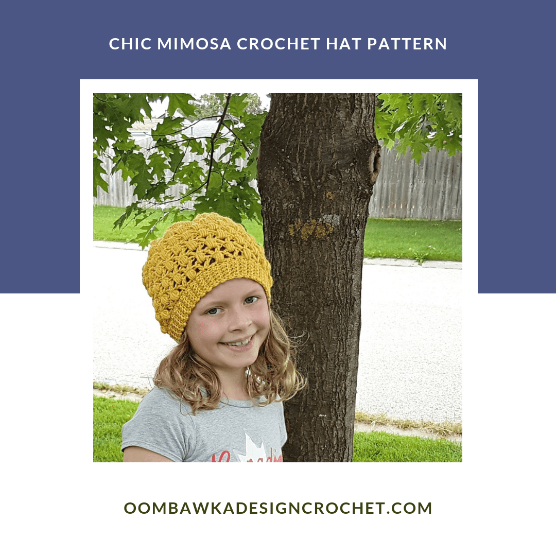 Chic Mimosa Crochet Hat Pattern from Oombawka Design Crochet 2