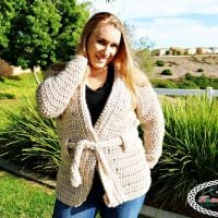 Chunky Belted Cardigan - Featured FPF at ODC