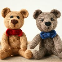 Classic Teddy Bear Free Pattern Friday
