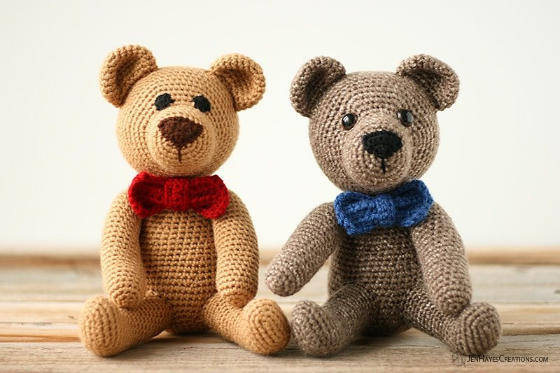Classic Teddy Bear Free Pattern Friday