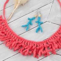 Free Pattern Friday at ODC: Coral Jewelry Necklace