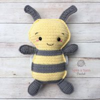 Crochet Bumble Bee Pattern Featured at Free Pattern Friday
