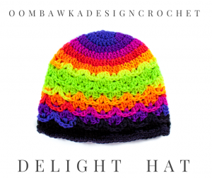 Delight Hat Free Crochet Hat Pattern