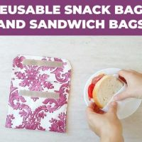 Featured Wednesday Link Party DIY Reusable Sandwich Bags