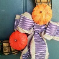 Foam Pumpkins - Featured Link Party 367