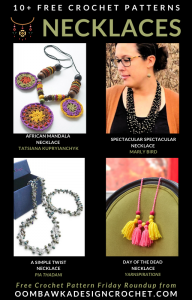 Free Crochet Necklace Patterns Free Pattern Friday at ODC